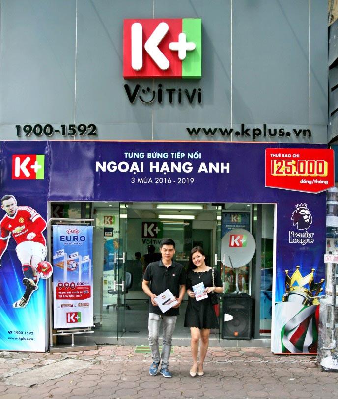 Đại lý lắp đầu thu K+ tại Hồ Chí Minh